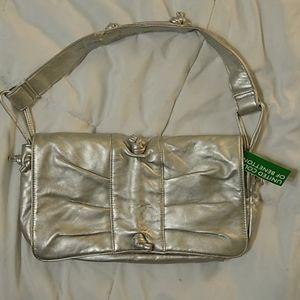United Colors of Benetton Silver Handbag